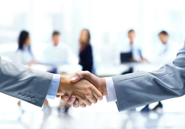 Customer Relation Management - Shake Hands
